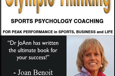Olympic Thinking Sports Psychology Coaching Mental Training for Athlete Peak Performance